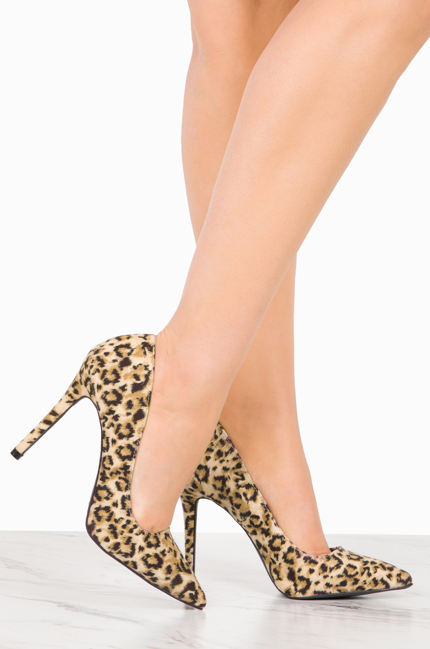 Forever More - Leopard Suede clearance pictures 7dvn3Bgmo