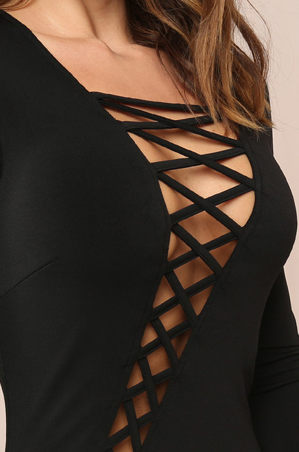 Own Your Curves Dress - Black