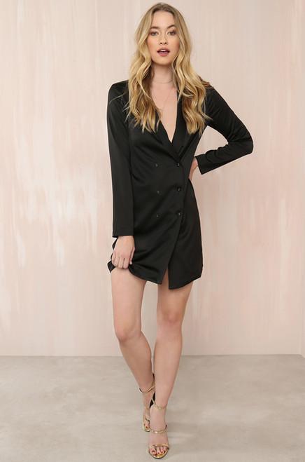 Power Bae Dress - Black