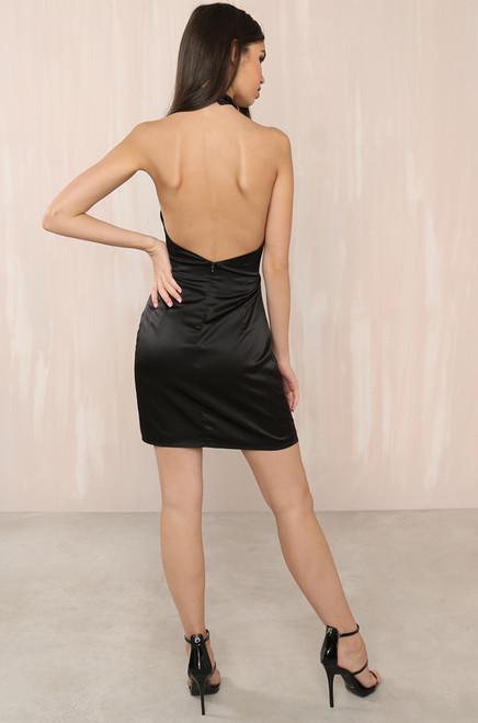 Highs & Lows Dress - Black