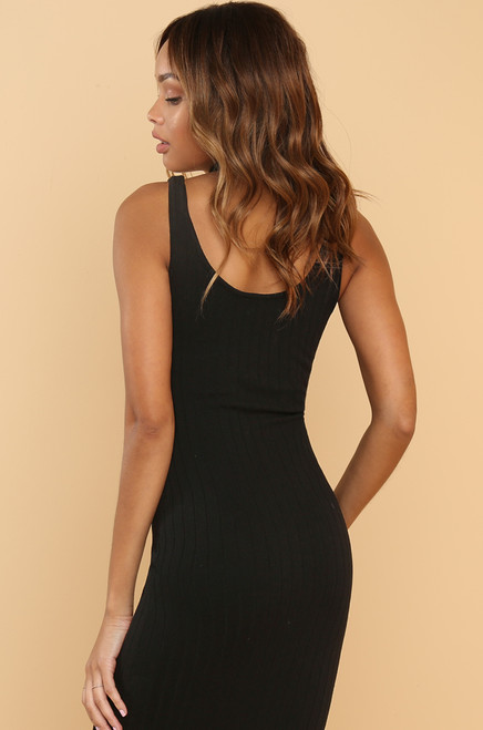 Keep Dreaming Dress - Black