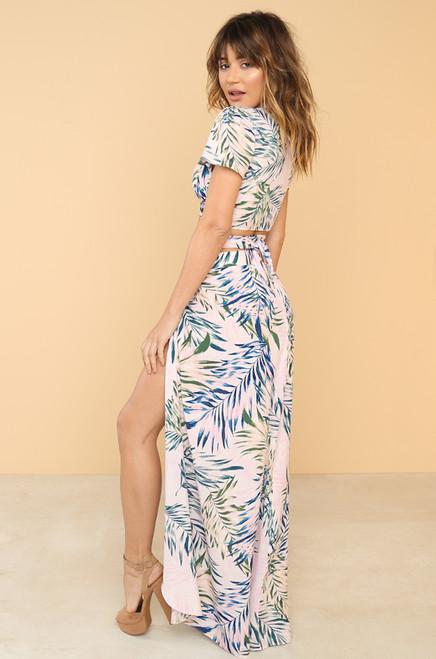 Cool For Summer Skirt - Blush