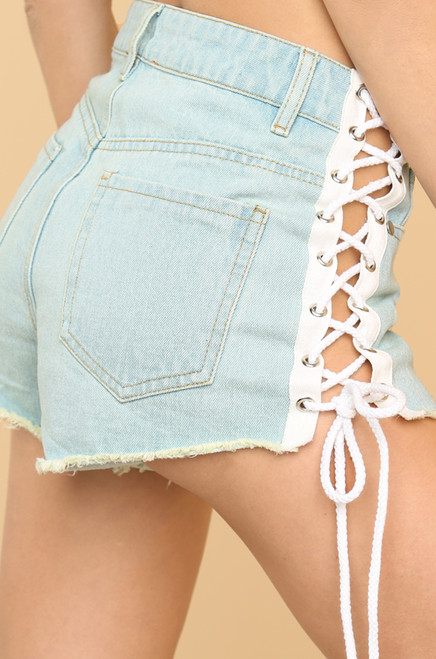 You're Cut Off Shorts - Denim