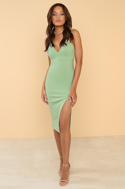To The Nines Dress - Mint