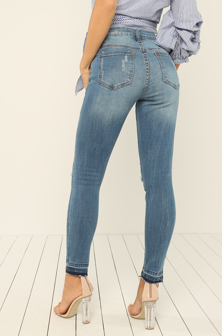 Blue Crush Jean - Light Wash Denim