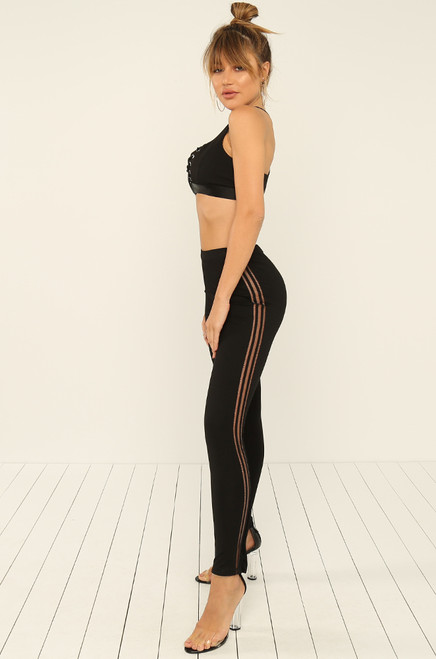 Feelin' It Leggings - Black