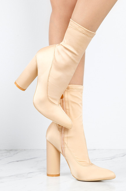 Luxe Edge - Nude Satin cheap price low shipping fee buy cheap affordable buy cheap get to buy free shipping big discount discount codes really cheap oOBDKB4BW