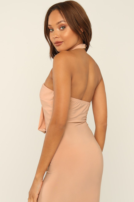 All Up On Me Dress - Blush