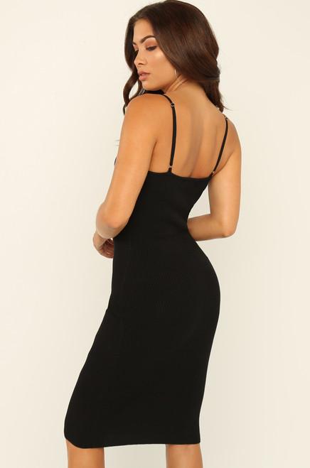 Ladies First Dress - Black