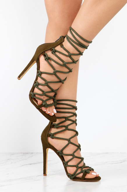 Roped In - Olive