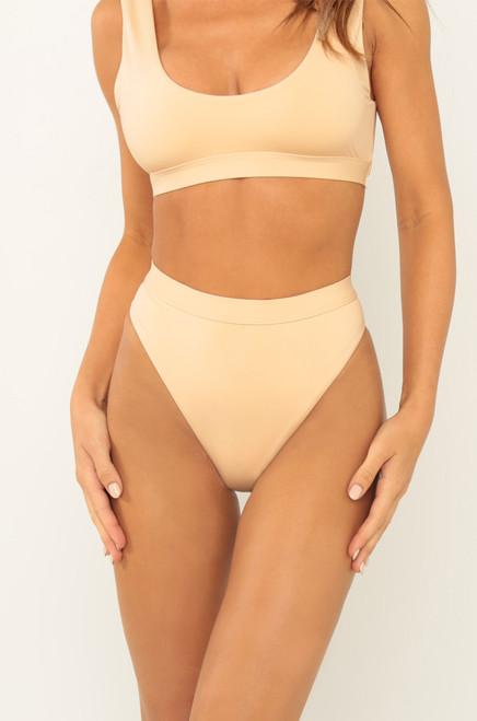New Wave Bikini Bottom - Naked