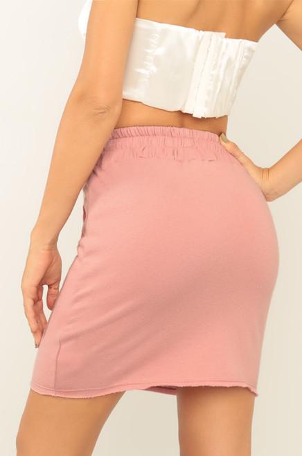 In Her Element Skirt - Blush