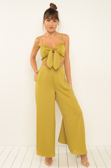 Gallery Gal Co-Ord Set - Mustard