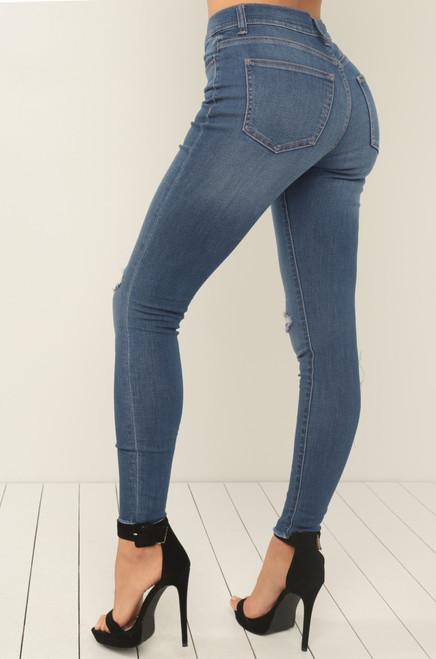 Jean You There Jeans - Medium Denim