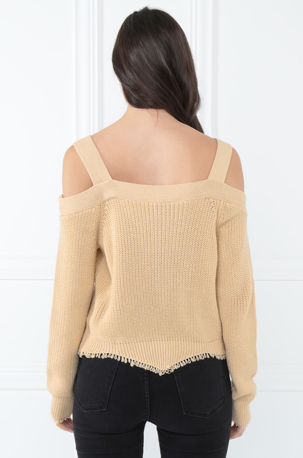 Mingle Time Top - Nude