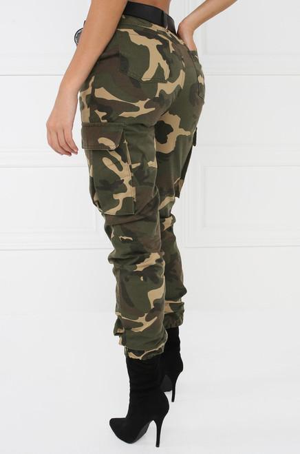 Big Bang Cargo Pant - Camouflage