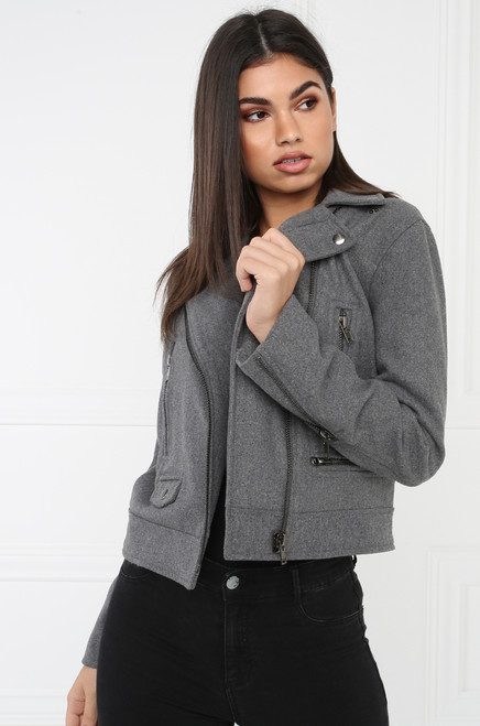 Toughen Up Jacket - Grey