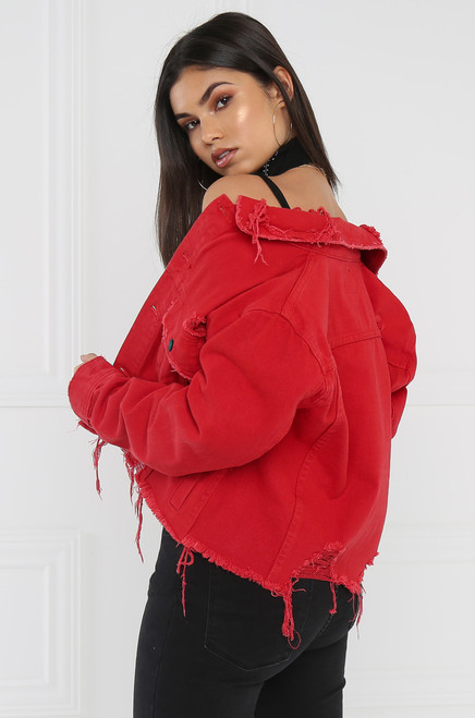Cherry Bomb Jacket - Red