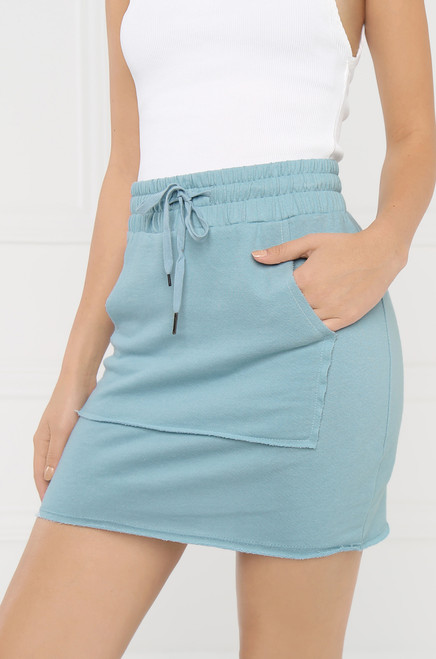 In Her Element Skirt - Baby Blue