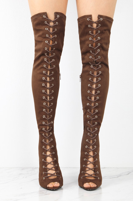 Laced & Loaded - Brown outlet newest 3Z9B3