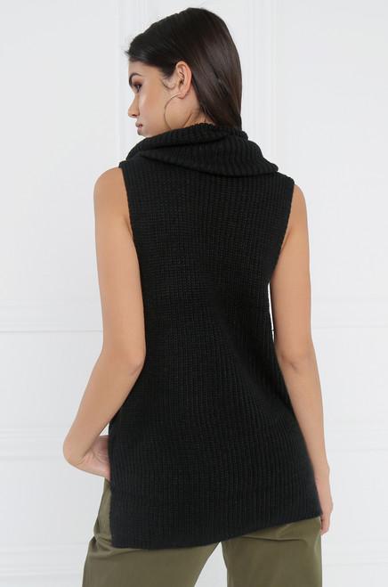 Zip It Knit - Black