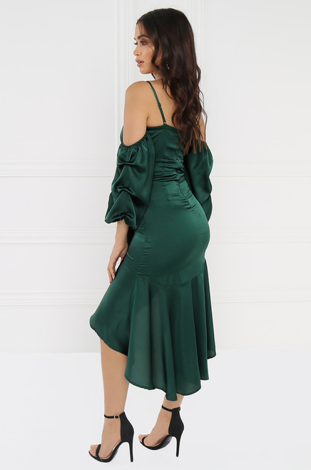 Speechless Dress - Emerald