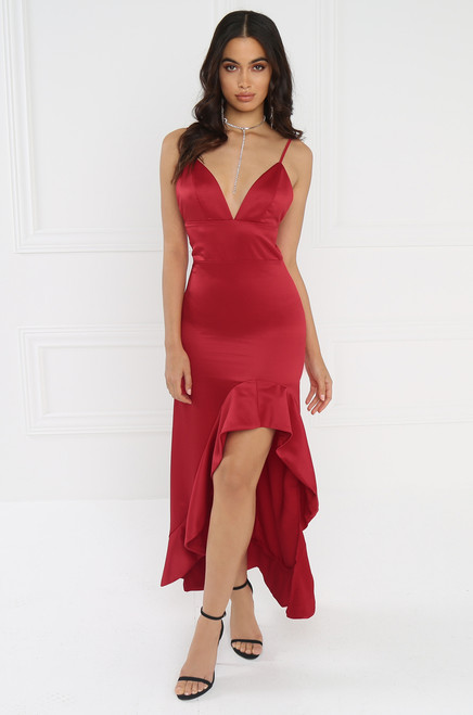 Attention Seeker Dress - Red