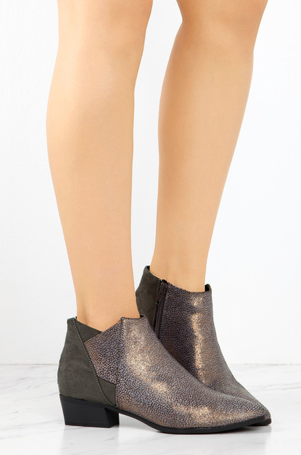 Go For The Gold Bootie - Gold under $60 cheap price 7NoXmPTpz