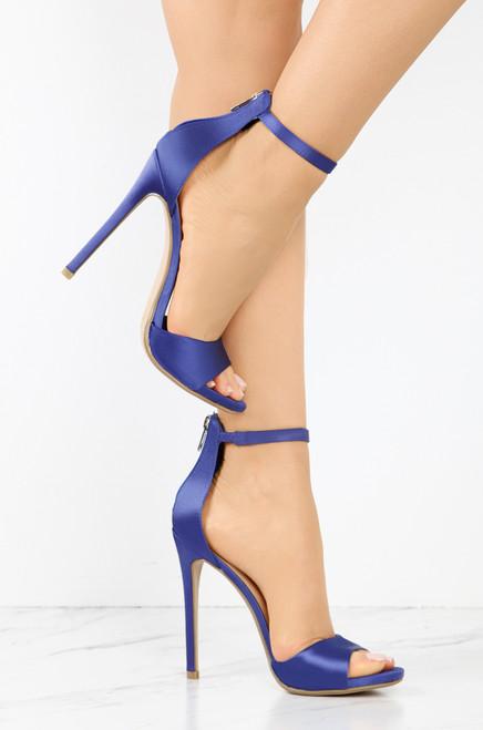 Nice List - Blue Satin discount wholesale price the cheapest for sale PR0rUr3r