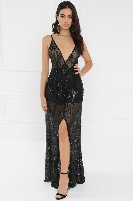 Buzz Worthy Dress - Black
