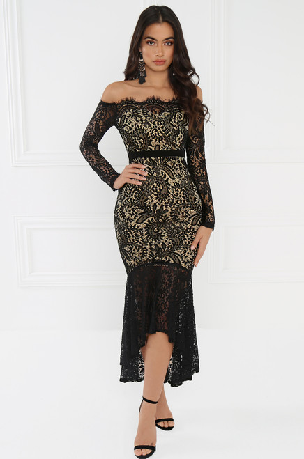 Chantilly Dress - Black