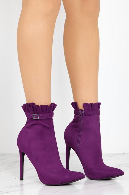 Buy Me Love - Purple Suede