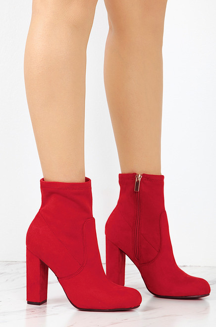 Here & Now - Red Suede