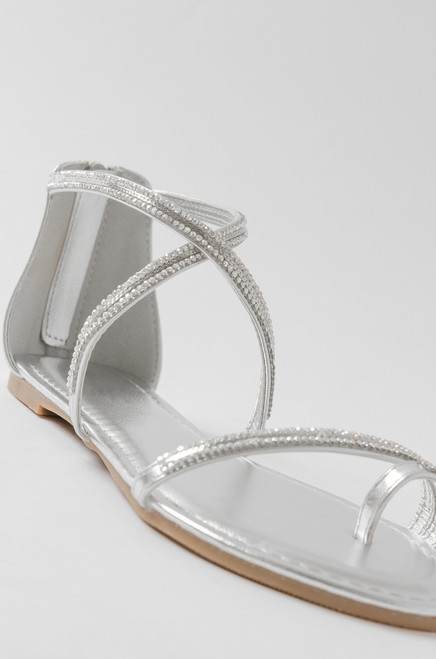 Bristol Sandal - Silver discount outlet locations cheap sale 2015 new buy cheap huge surprise 10phv