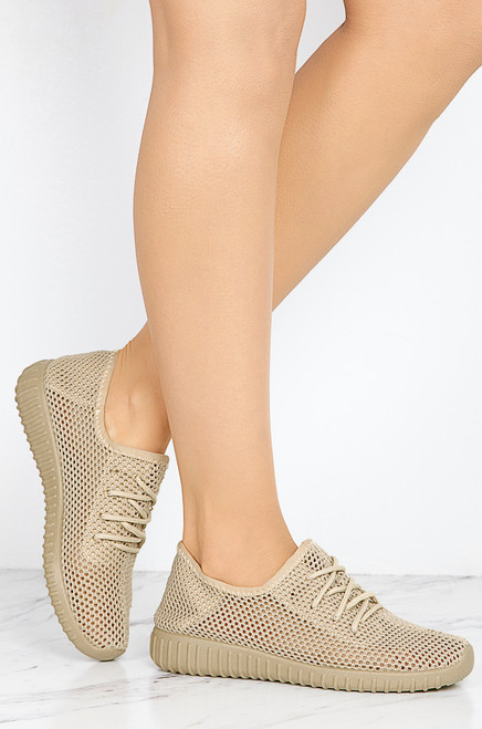 Go Getter - Taupe Mesh