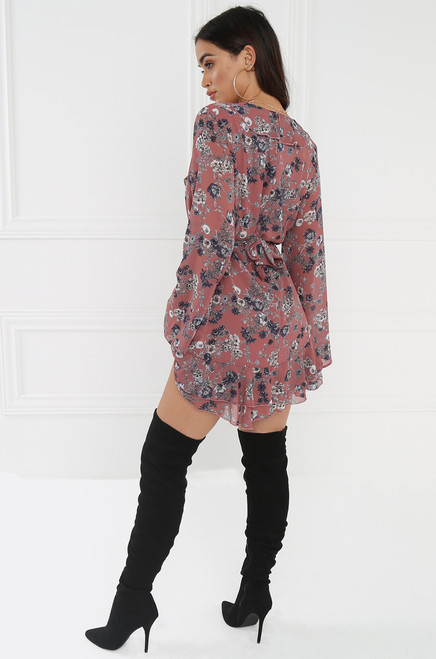 Open Meadow Dress - Mauve