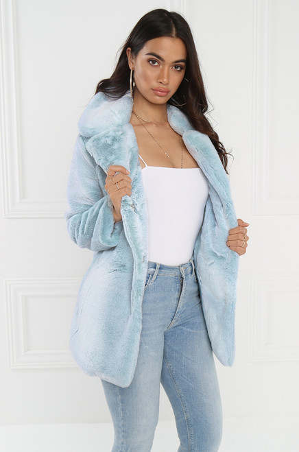 Cloud 9 Coat - Baby Blue