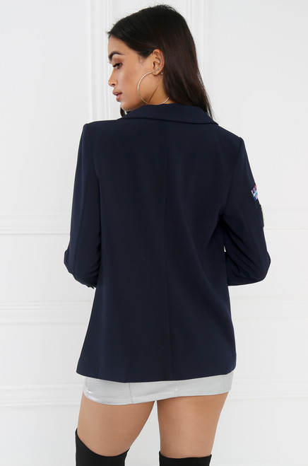 Secret Scholar Blazer - Navy