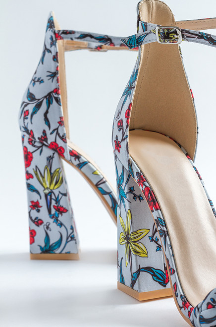 New Girl - Blue Floral