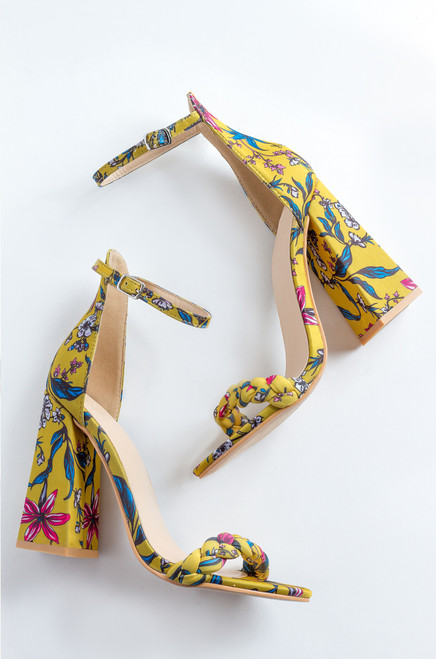 New Girl - Yellow Floral