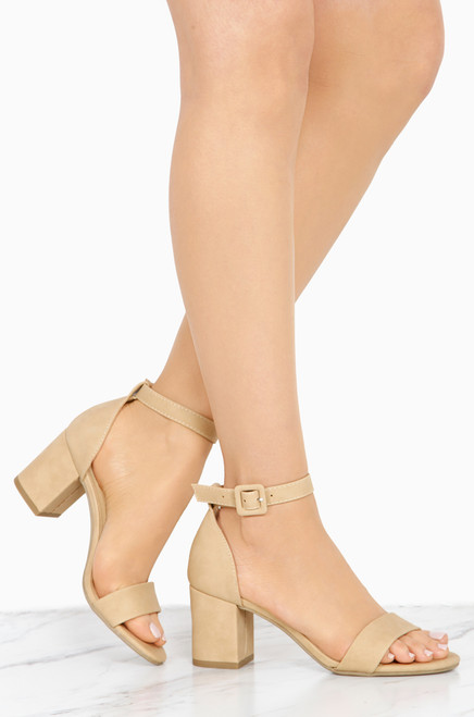 Lovely Lady - Natural Nubuck