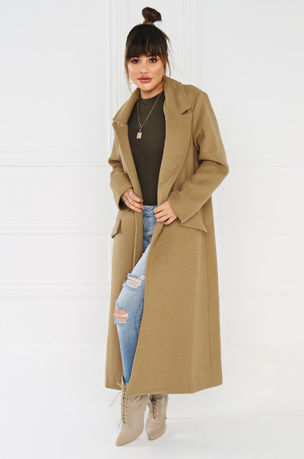 No Nonsense Trench - Nude
