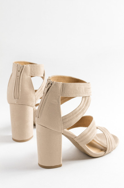 Ready For Love - Taupe Suede