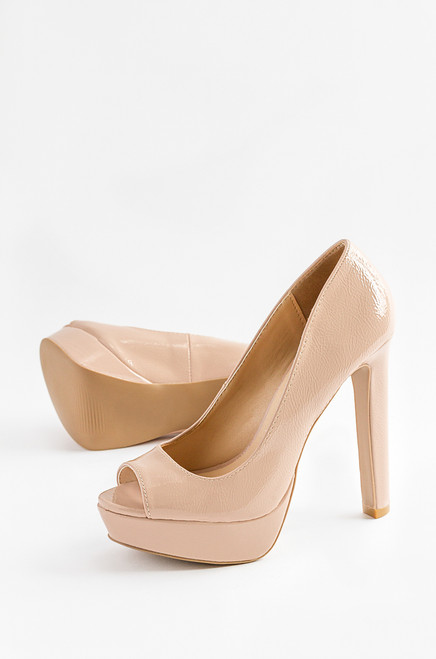 Forget Me Not - Nude Patent