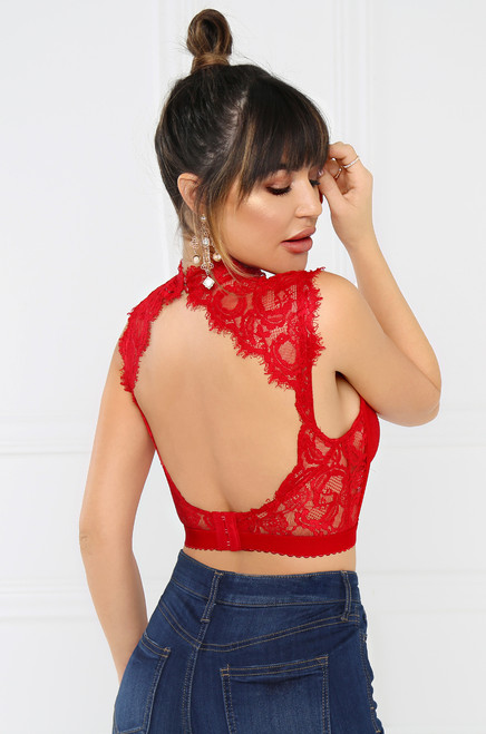 Only Love Bralette - Red