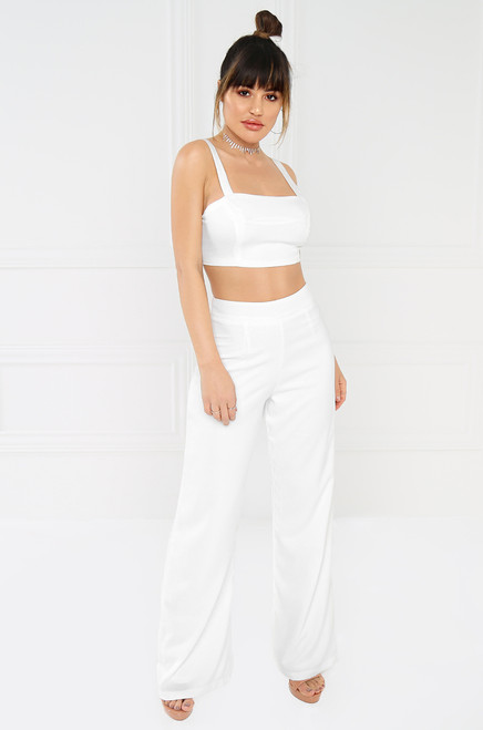 Yacht Party Co-Ord - White