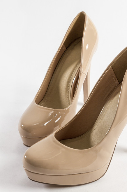 free shipping recommend extremely for sale Girl Talk - Beige Patent eastbay for sale i27U9cf97