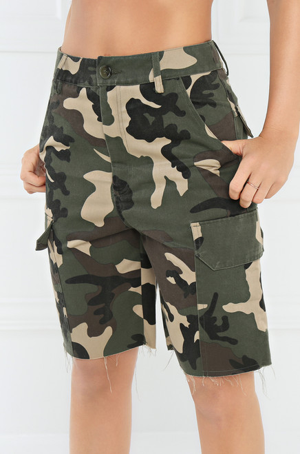 Casual Command Shorts - Camouflage