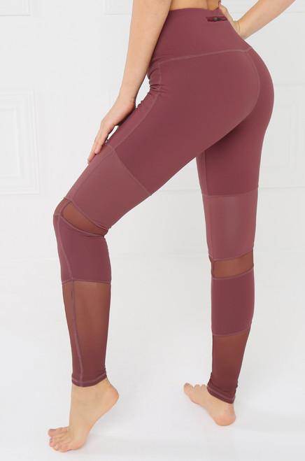 Nice & Nimble Legging - Mauve