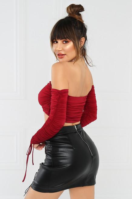 No Boundaries Skirt - Black